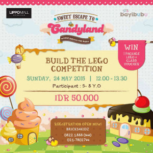 Candyland Lego