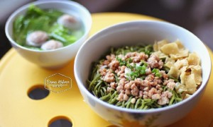 mie green tea