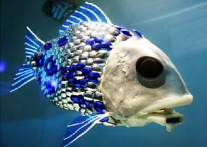 robot ikan