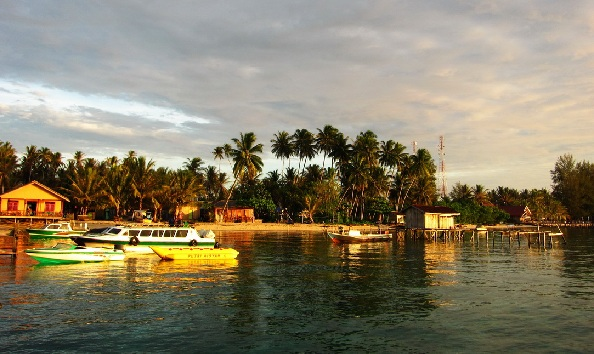 sunrise derawan