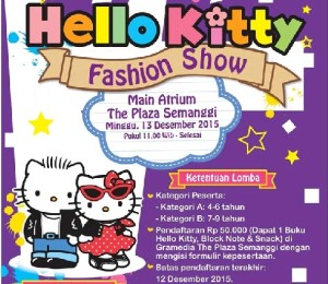 hello kitty fashion show cover