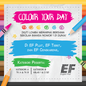colour your day, lomba mewarnai, info lomba mewarnai, gambar untuk lomba mewarnai, gambar lomba mewarnai, lomba foto anak, belajar bahasa inggris, wall paint, paint colours