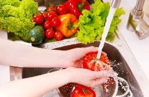 mencuci buah, sayuran, pestisida, cara membuat cuka apel, agar-agar buah, hidrogen peroksida, residu adalah, harga cuka apel
