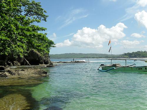 Pantai Ombak Tujuh Ujung Genteng Sukabumi Destinasi Wisata