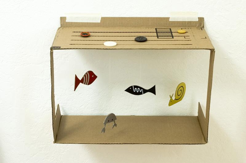 Cara Membuat Ape Aquarium Dari Kardus Bekas Buahatiku