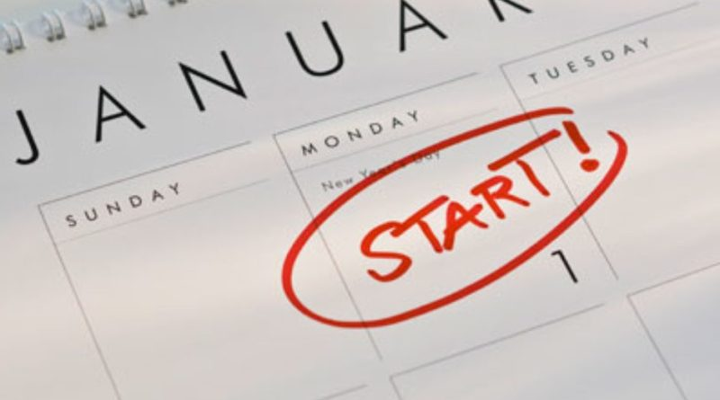 resolusi tahun baru, new year resolution