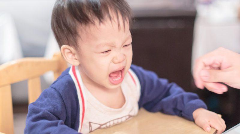 Nah anak lapar marah